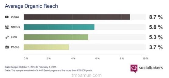 Socialbakers Facebook Video report