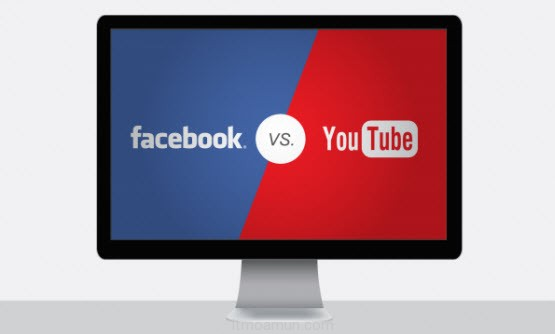 facebook video vs youtube