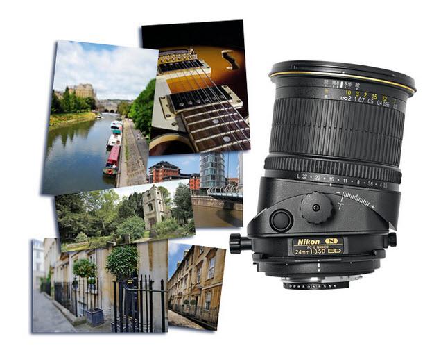 Tilt-Shift Camera Lens