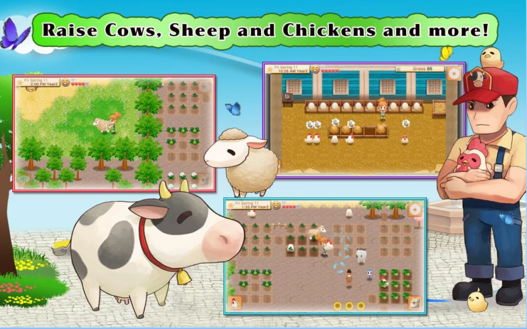 เกมส์ Harvest Moon บน Android เกมปลูกผักเลี้ยงสัตว์