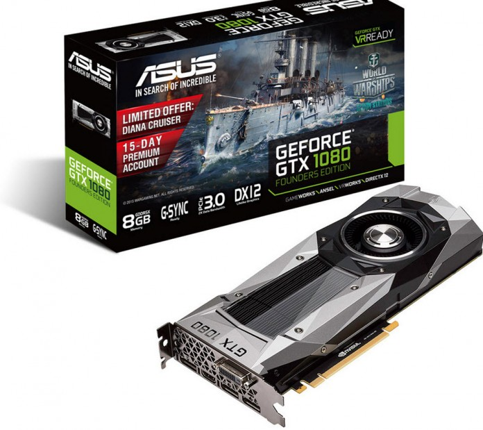 ASUS GeForce GTX 1080