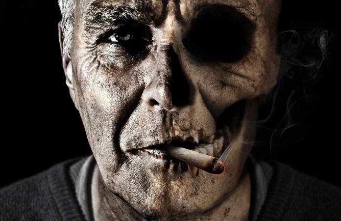 บุหรี่ทำลายสุขภาพตัวเอง