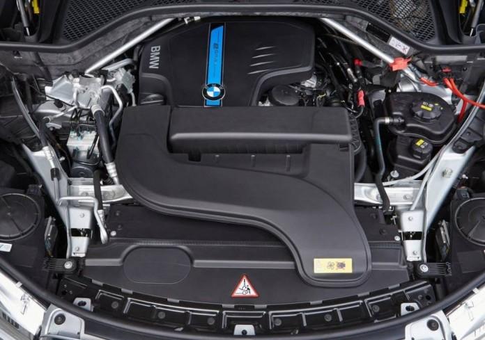 BMW 2017 diesel engine