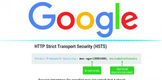 HTTP Strict Transport Security Google