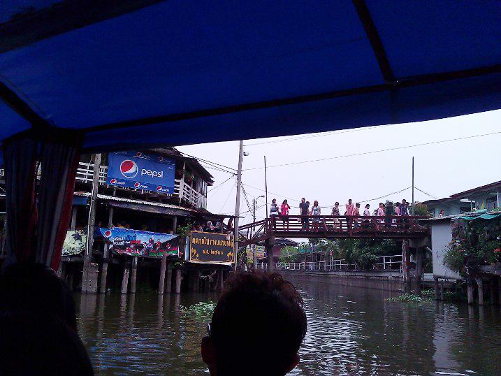 ล่องเรือตลาดโบราณบางพลี