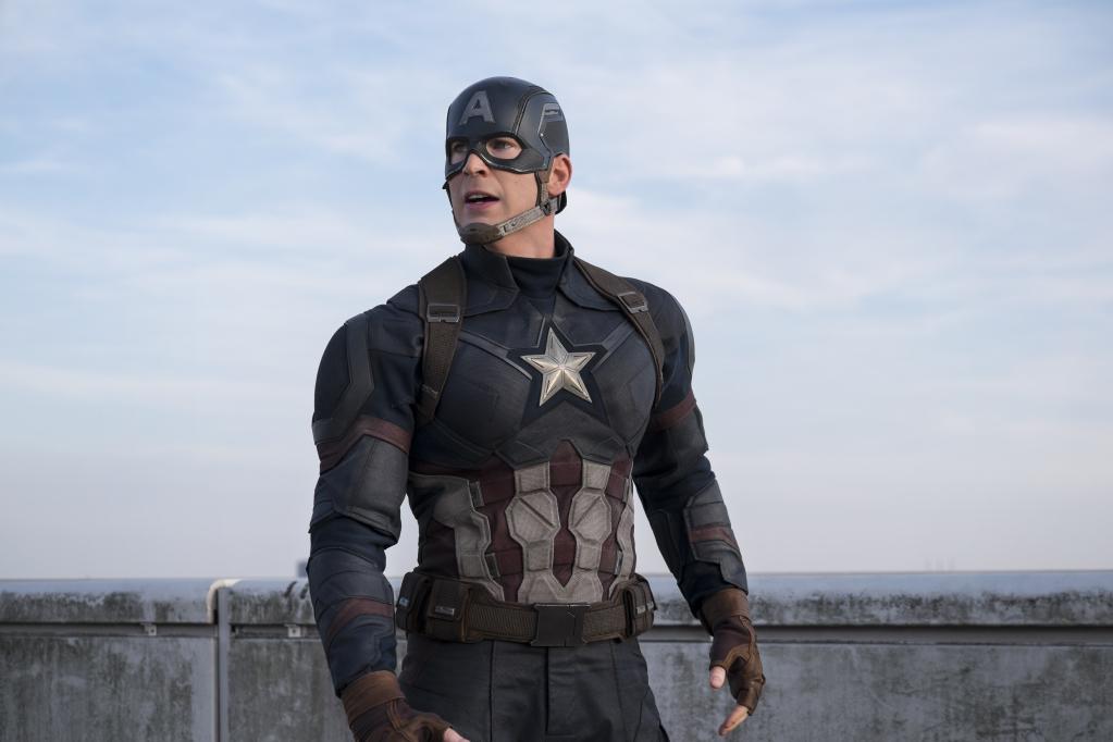 Chris Evans ใน Captain america civil war