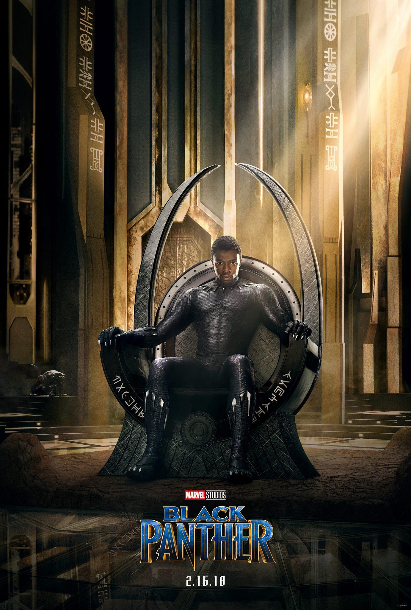 Black Panther Poster ปกหนังแรก