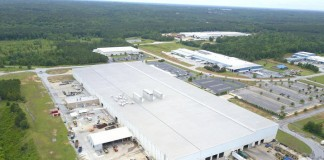 Samsung's planned home appliance manufacturing facility in Newberry County, South Carolina