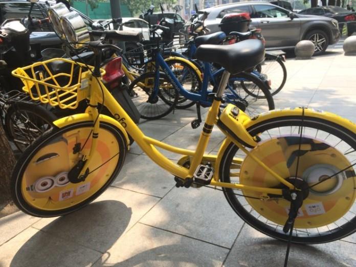 Universal Pictures ลงโฆษณา Despicable Me 3 บนรถจักรยานในจีน