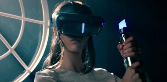 Lenovo สร้างอุปกรณ์ Reality Headset สำหรับเกมส์ Star Wars