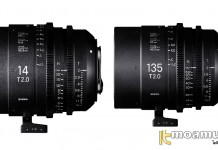 Sigma 14mm และ 135mm T2